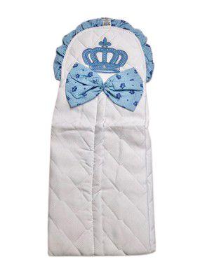 Porta Fralda Coroa Azul