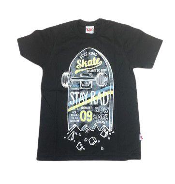 Camiseta Manga Curta Tam 4