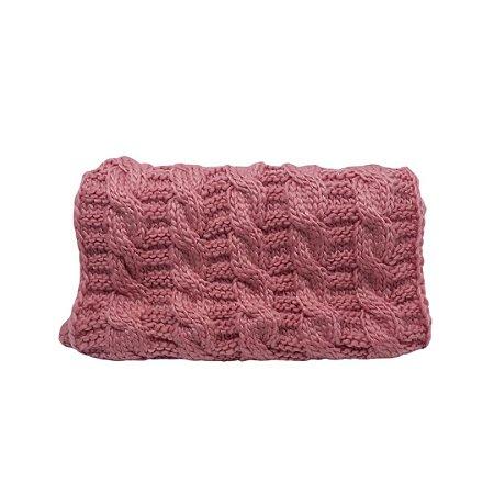Gola de tricot pontos largos