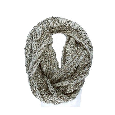 Gola tricot mesclada