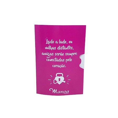 """Cartão Gift tema """"Amizade"""" Manôa Gift"""