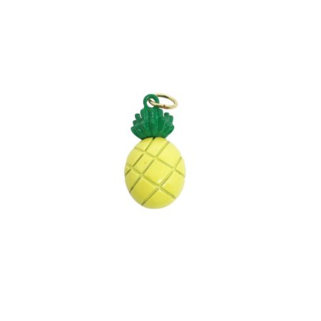 Pingente de abacaxi esmaltado