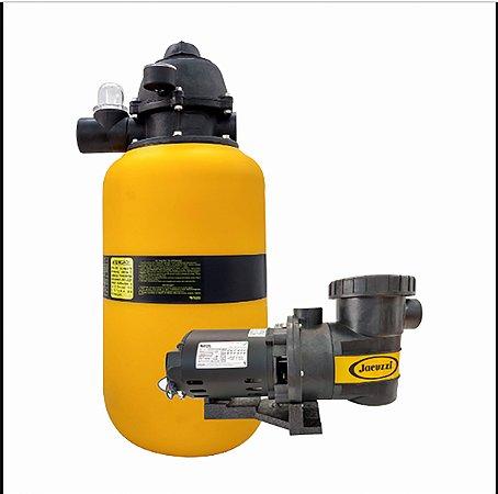 Filtro e Bomba Jacuzzi Piscina até 26.000 Litros 12 TP 3A-M 1/3CV - 110/220V Monofásica