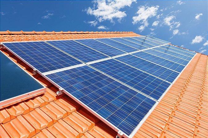 Instalação de sistema de Aquecimento Solar