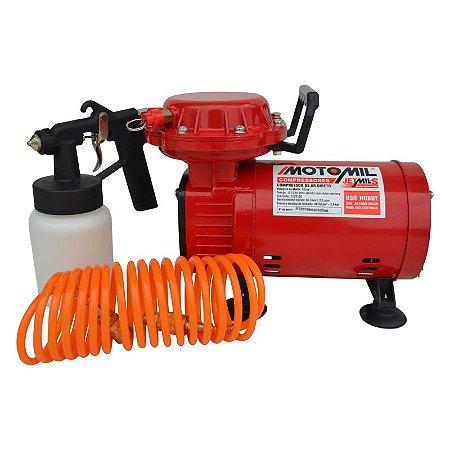 Compressor De Ar 1/3hp 2,3 Pes³/min  JETMIL 127/220v  - MOTOMIL