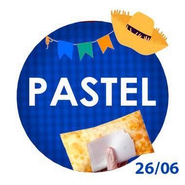 PASTEL - RETIRADA SOMENTE NO DIA DA FESTA COM HORÁRIO PREVIAMENTE AGENDADO- 26/06