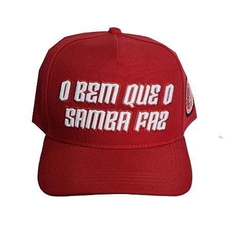 Boné - O Bem que o Samba Faz - Vermelho