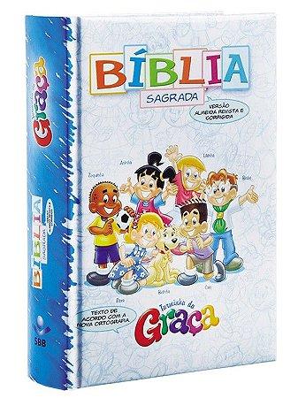 Bíblia  Turminha da Graça azul