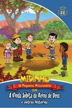 DVD Midinho  A vinda súbita do reino de Deus e outras histórias - vol 22 NT