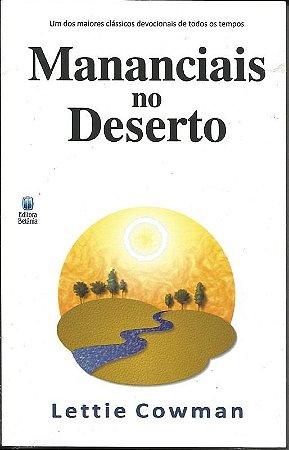 Livro Mananciais do deserto