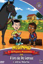 DVD Midinho  A Cura dos Dez Leprosos e outras histórias - vol 17 NT