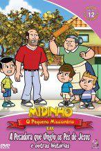 DVD Midinho A Pecadora que Ungiu os pés de Jesus - vol 12 NT