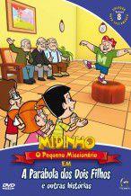 DVD Midinho A Parabola dos dois Filhos e outras histórias - vol 08 NT