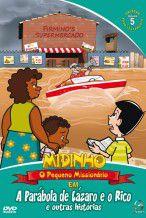 DVD Midinho A Parábola de Lazaro e o Rico outras histórias - vol 05 NT