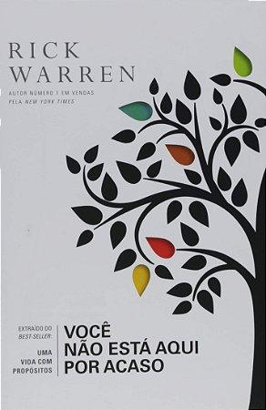 Livreto-Você não está aqui por acaso - Rick Warren