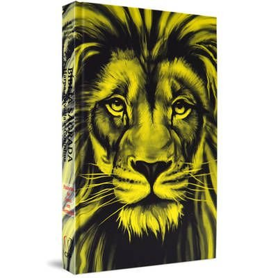 Bíblia com Harpa capa dura - Leão Amarelo