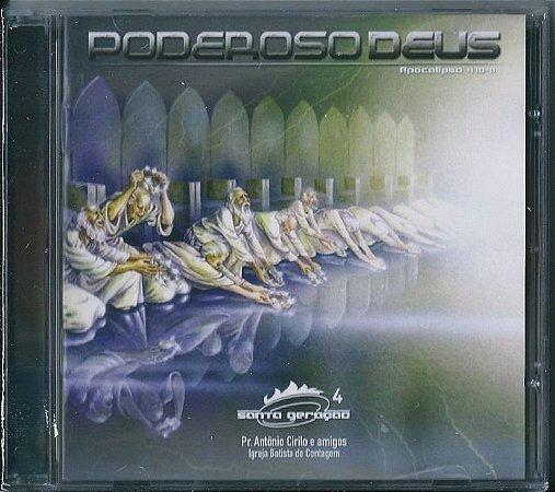 CD Poderoso Deus-Santa Geração 4