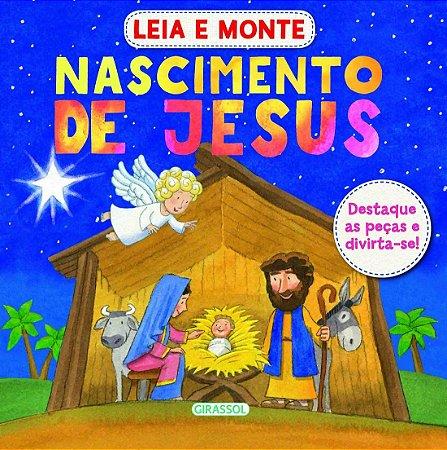 Livro Leia e Monte Nascimento de Jesus