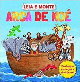 Livro Leia e Monte Arca de Noé