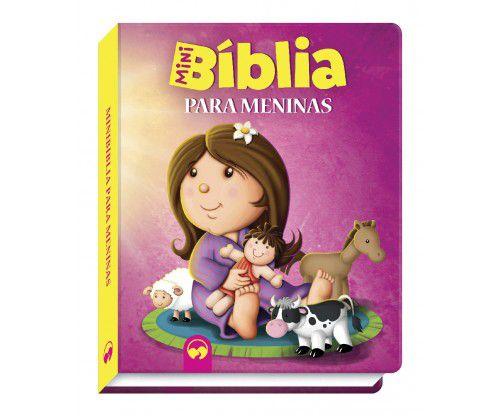 Livro Mini Bíblia Para Meninas