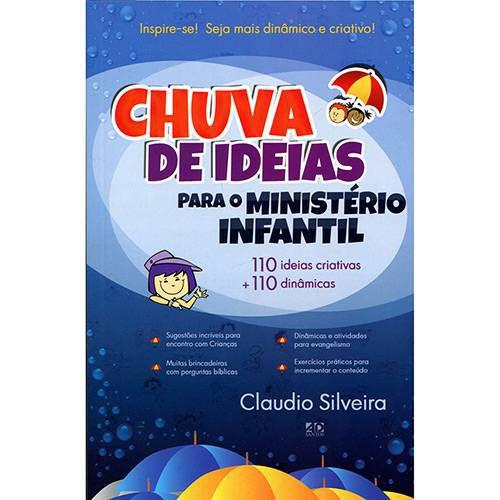 Livro Chuva de ideias para o ministério infantil-Claudio Silveira
