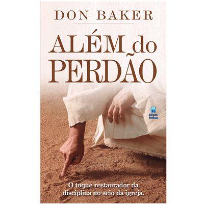 Livro Além do perdão-Don Baker