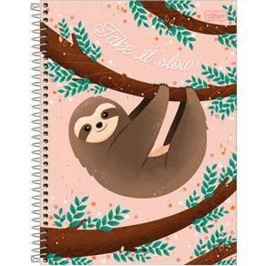 Caderno Universitário Bicho Preguiça 10 Matérias Tilibra