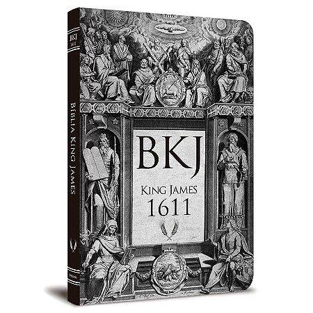 Bíblia BKJ 1611 Ultra Fina -  Lettering Bible (Retrô)