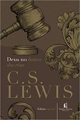 Livro Deus no banco dos réus  - C. S. LEWIS