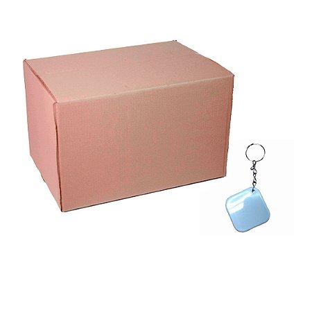 Caixa Chaveiro Polímero Quadrado