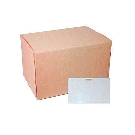 Caixa Crachá Polímero Horizontal