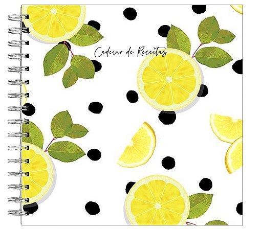 Caderno de Receitas - Limão Siciliano