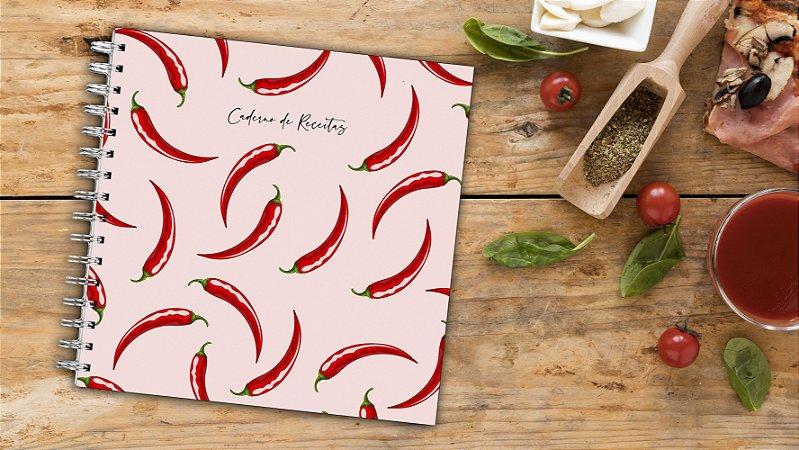 Caderno de Receitas - Pimentas