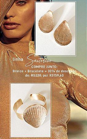 Compre Junto - Bracelete + Brinco Santorini