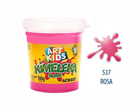 BRINQUEDO KIMELEKA SLIME 180G R.0537 ROSA