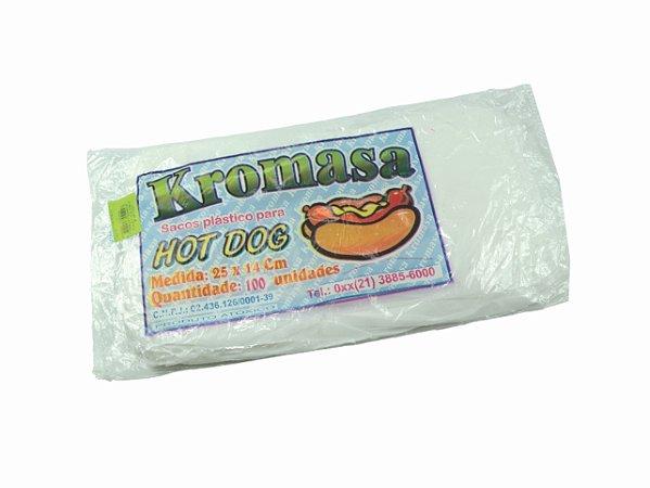 SACO HOT DOG PLASTICO 25X14 || PCT C/100