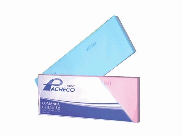 IMPRESSO COMANDO 2 CORPOS 100FLS AZUL R.151 || PCT-C/20