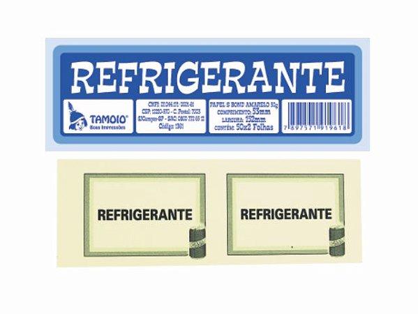 IMPRESSO FICHA DE BAR REFRIGERANTE 100 FLS R.1961-0 || PCT-C/10