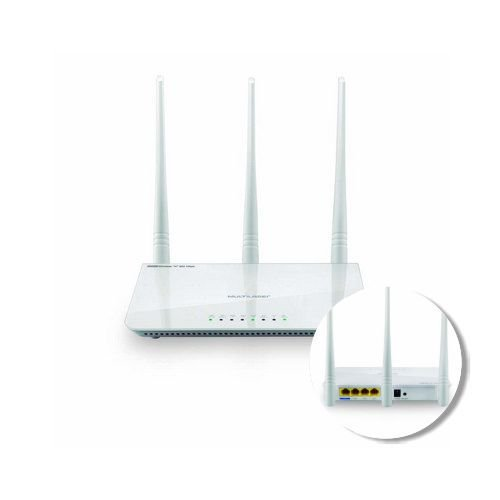 ROTEADOR WIRELESS 300 MBPS 3 ANTENAS RE163 || UNID