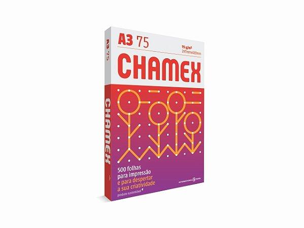 PAPEL CHAMEX A3 MULTI 75GRS 500FLS    PCT UNID