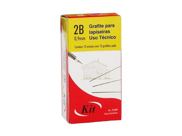 GRAFITE 0.9 2B KIT 12 MINAS    CAIXA C/12