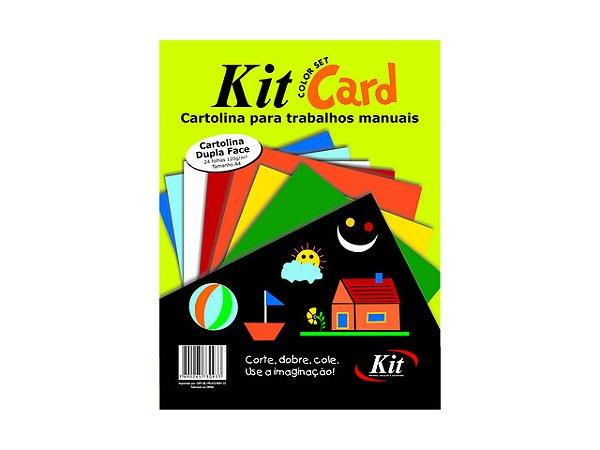 PAPEL KIT CARDS A4 C/24FLS REF.SH-1A4 || PCT UNID