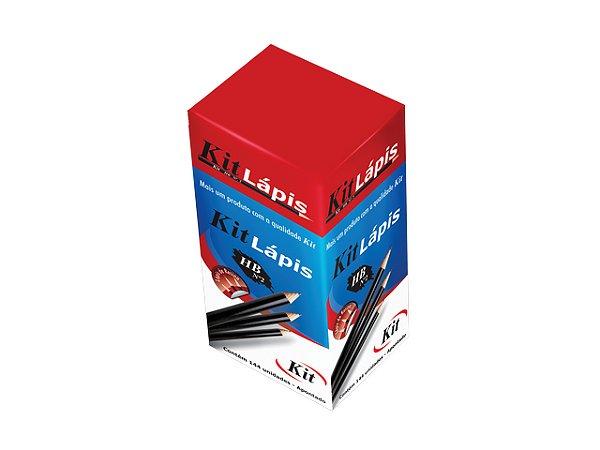 LAPIS GRAFITE KIT N  2 PRETO REF.8001B || CAIXA C/144