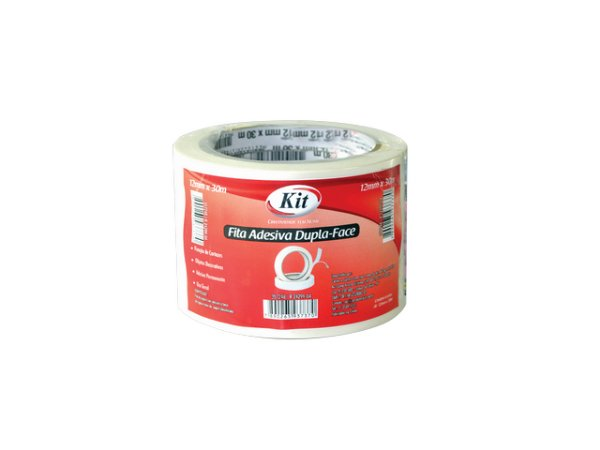 FITA ADESIVA 12X30 DUPLA FACE KIT R.24299-04    PCT C/6