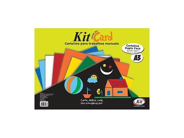 PAPEL KIT CARDS A3 C/24FLS REF.SH-1A3    PCT UNID