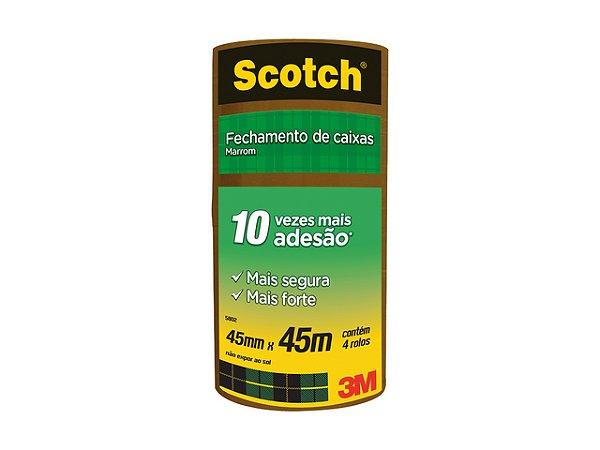 FITA P/EMB. 45X45 SCOTCH 5802 MARROM REF. 21059    PCT C/4