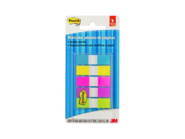POST-IT FLAGS SORTIDO 5 CORES NEON R.HB004354146 || IND UNID