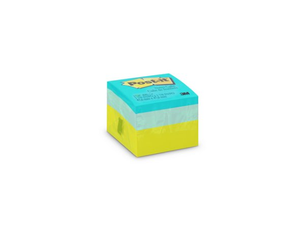 BLOCO POST-IT CUBO NEON CORES 47,6X47,6MM R.4434963 || PCT UNID