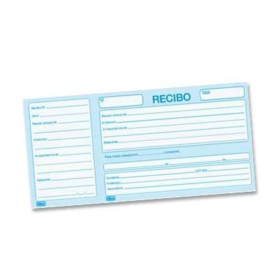 IMPRESSO REC.COMERCIAL C/CANHOTO 50 FLS R4250 || PCT C/20
