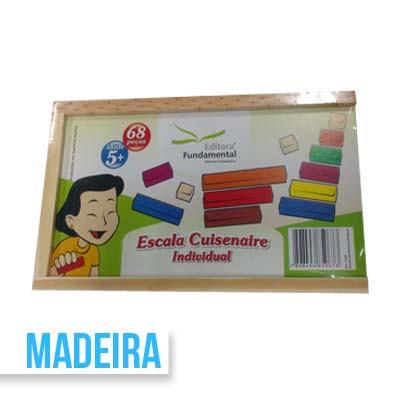 BRINQUEDO EDUC ESCALA CUISINAIRE 68PC R3226 || IND UNID